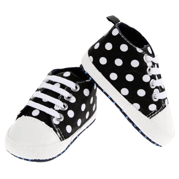 Tiny Dotted Shoes.  -  Tiny Cupids