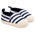 Tiny Striped First Walkers Shoes  -  Tiny Cupids