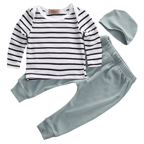 Tiny Striped Outfit  -  Tiny Cupids