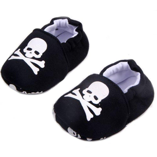 Skull Cotton Soft Shoes