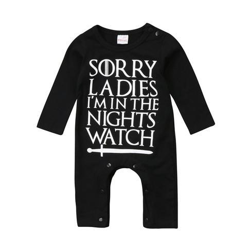 Sorry Ladies, I'm In Night Watch Jumpsuit  -  Tiny Cupids