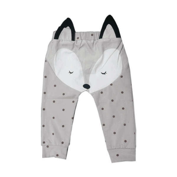 Tiny Cute Fox Pants  -  Tiny Cupids