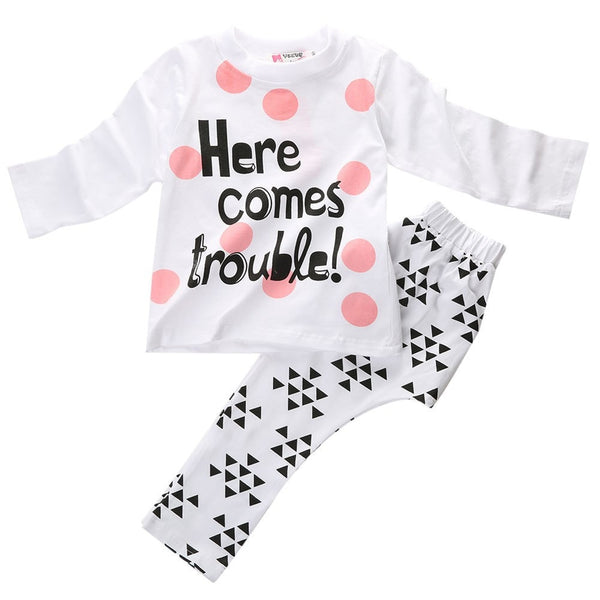 Here Comes Trouble Outfit  -  Tiny Cupids