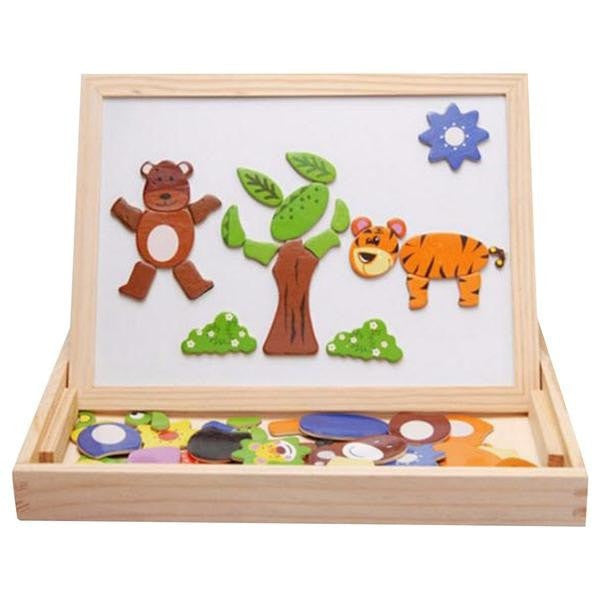 Wooden Magnetic Blackboard  -  Tiny Cupids