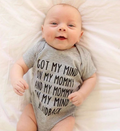 My Mommy on my mind Bodysuit-3 colors