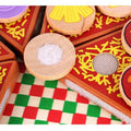 Wooden Pizza Toy  -  Tiny Cupids