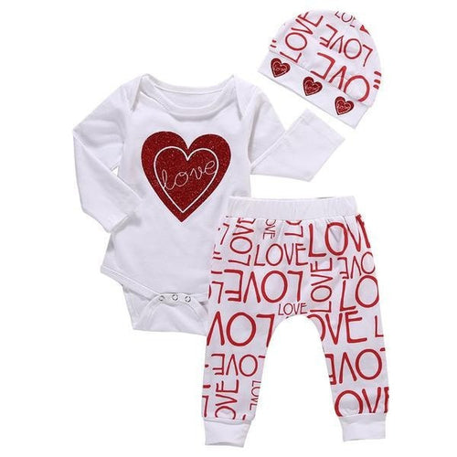 Tiny Love & Heart Outfit  -  Tiny Cupids