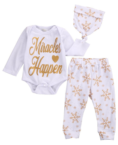 Christmas Miricals Clothing Set
