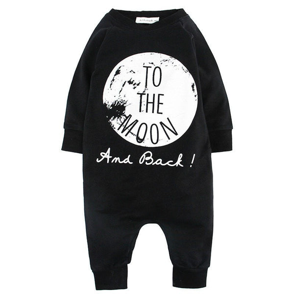 """To The Moon"" Jumpsuit  -  Tiny Cupids"