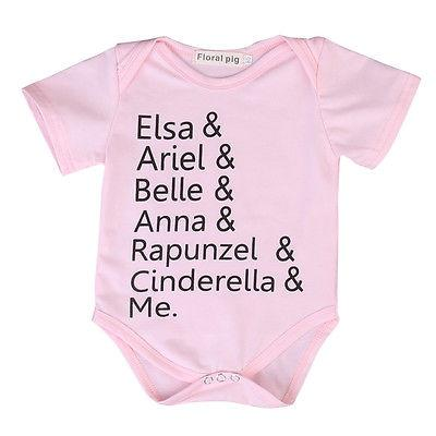 The Princesses and Me Bodysuit - FREE, Just Pay Shipping