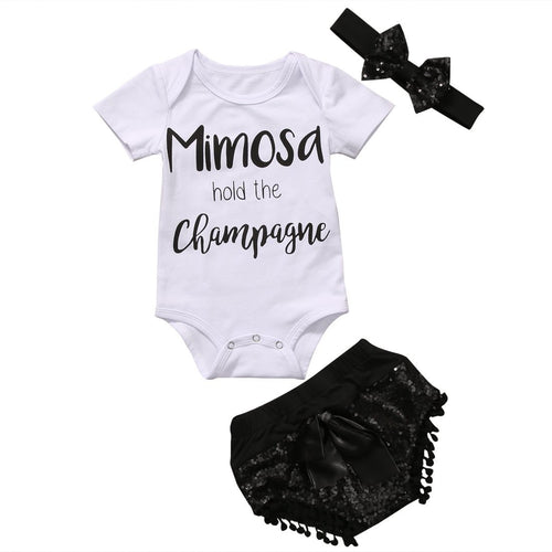 Mimosa Hold The Champagne Clothing Set