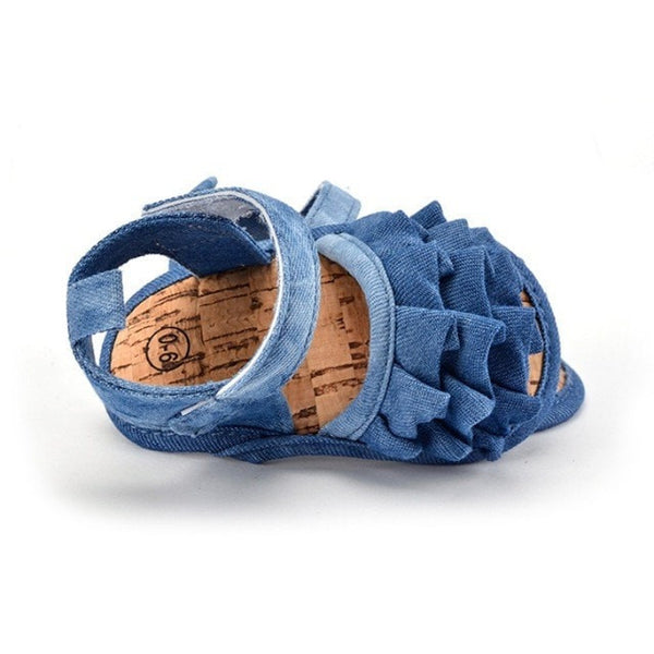Tiny Denim Sandals  -  Tiny Cupids