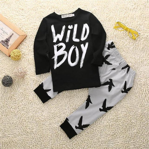 Wild Boy Clothing Set  -  Tiny Cupids