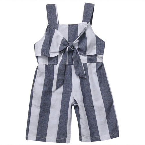Summer Striped Jumpsuit  -  Tiny Cupids
