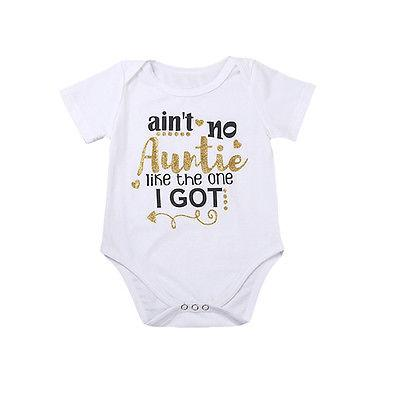 Aint no Auntie like the one I got Bodysuit  - FREE, Just Pay Shipping!  -  Tiny Cupids
