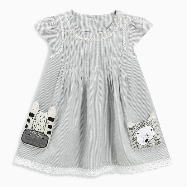 Girls Princess Designer Dress  -  Tiny Cupids