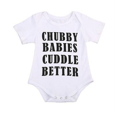 Chubby Babies Cuddle Better Bodysit