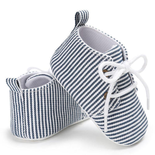 Stripes Casual Shoes  -  Tiny Cupids