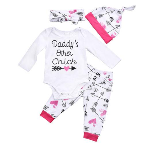 Daddy's Other Chick clothing Set