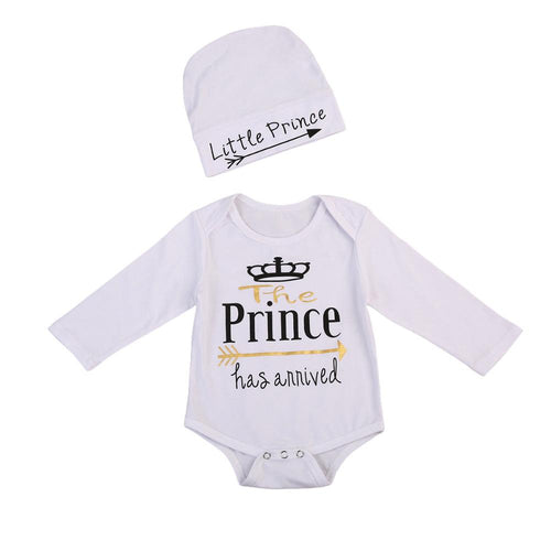 The Prince Has Arrived Bodysuit Set