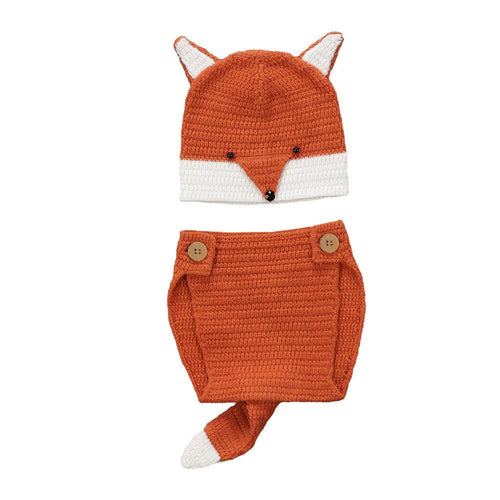 Fox Knit Photo Outfit