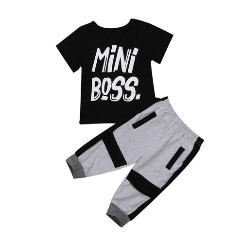 Mini Boss Cool Boys Clothing Set
