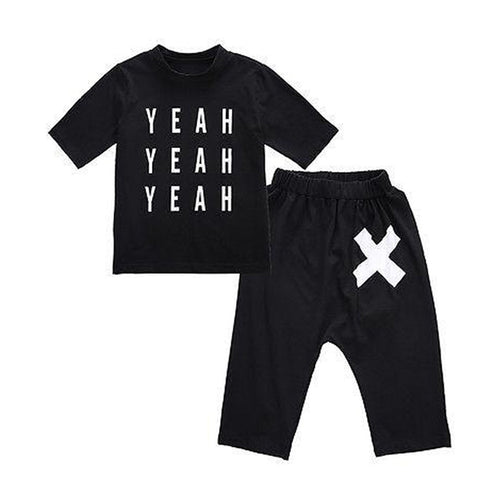 Yeah Yeah Clothing Set.  -  Tiny Cupids