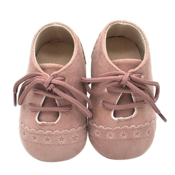Winter Leather Moccasins  -  Tiny Cupids