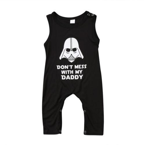 Don't Mess With My Daddy - Star Wars Jumpsuit