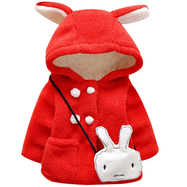Hooded Bunny Winter Coat