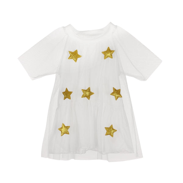 Star Lace Tulle Dress  -  Tiny Cupids