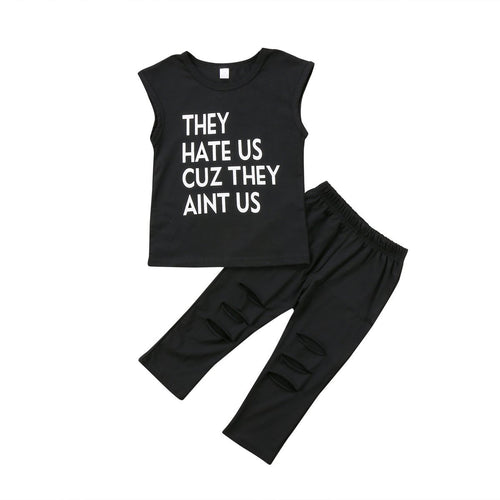 They Hate Us Clothing Set
