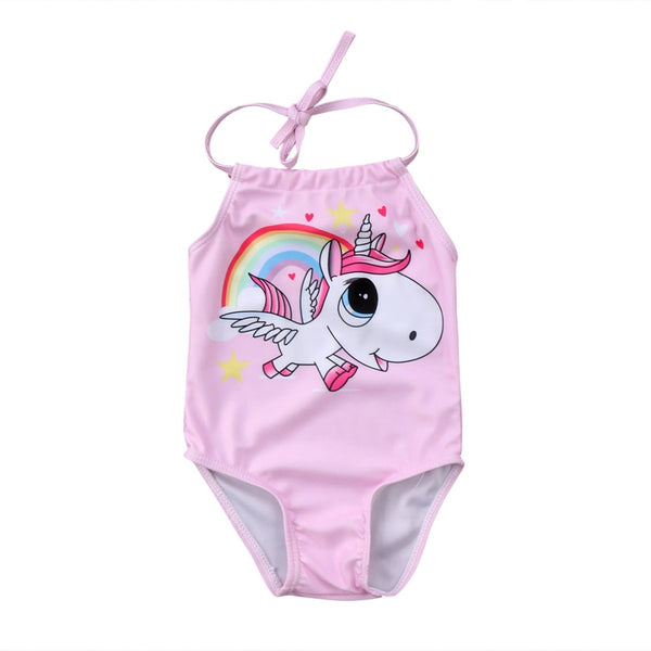 Baby Unicorn swimsuit  -  Tiny Cupids