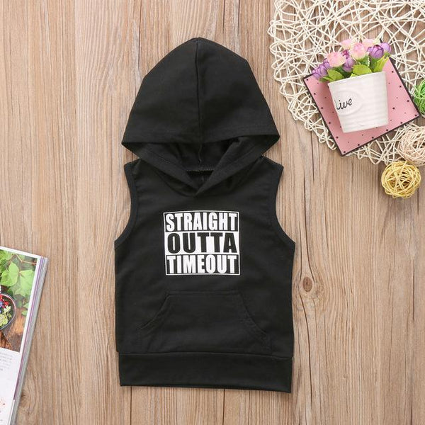 Straight Outta Timeout Casual Hooded Top