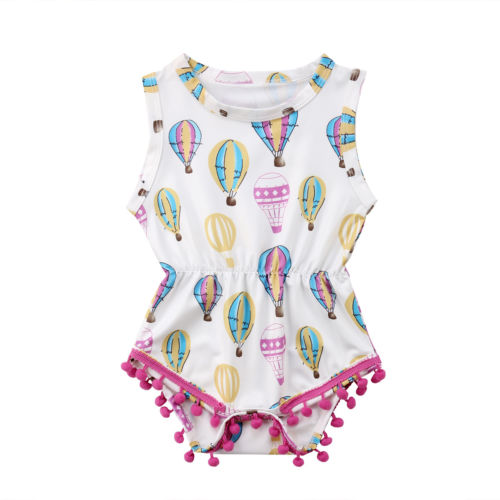 Balloon Prints Summer Outfit  -  Tiny Cupids