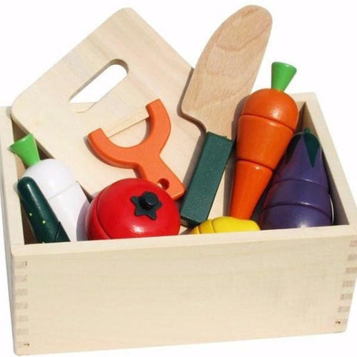 Wooden Kitchen Box  -  Tiny Cupids
