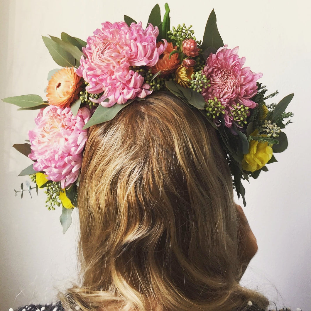 Flower Crown Workshop On Hold