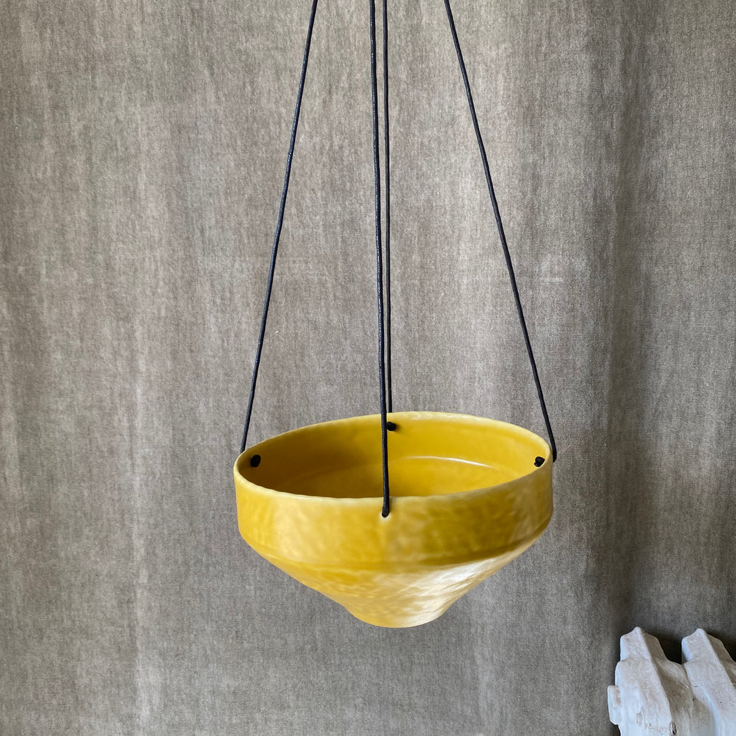 Large Round Hanging Planter