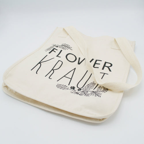 Flowerkraut Organic Cotton Tote Bag