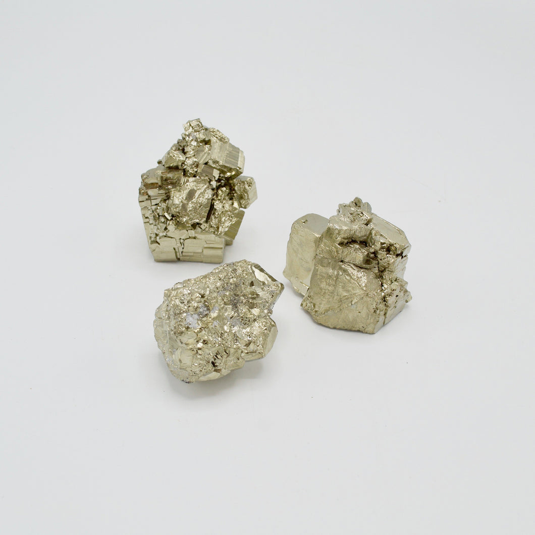Iron Pyrite Fools Gold Rock Crystal