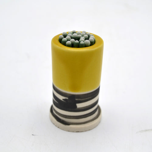 Striped Ceramic Match Striker