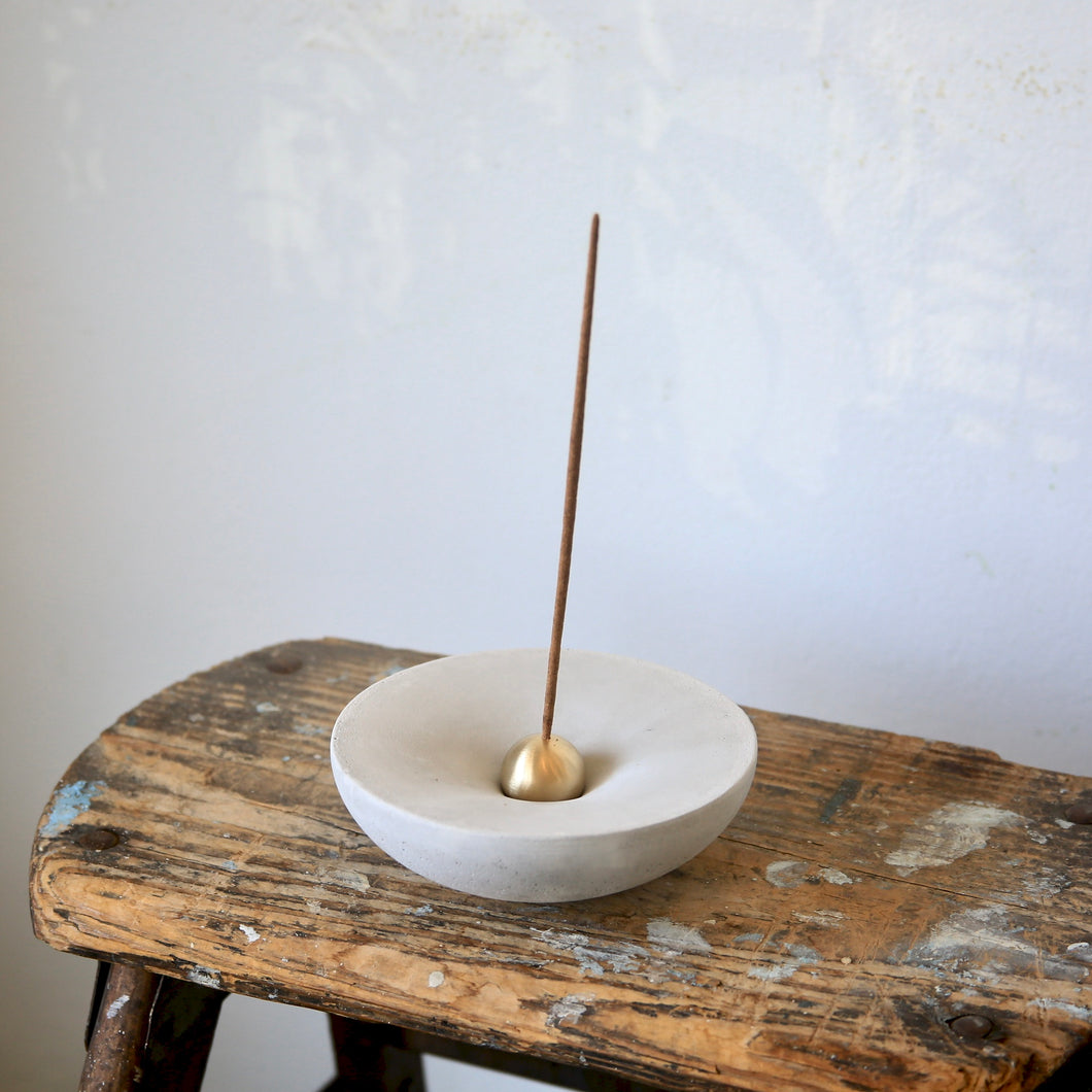 Vorta Candlestick and Incense Holder