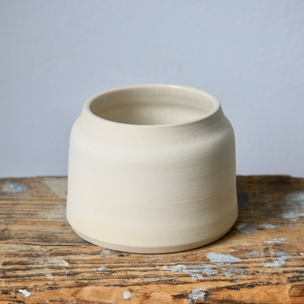 Small White Planter