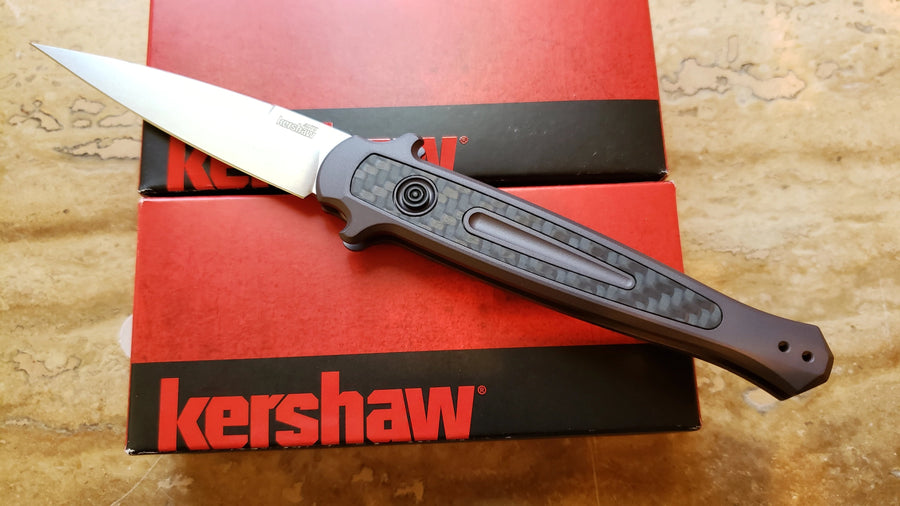 Kershaw 7150 Launch 8 Automatic Knife Gray/CF