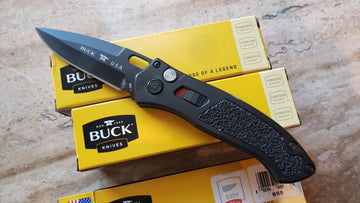 Buck Automatic Knife Impact 898BKS1 Black Armor