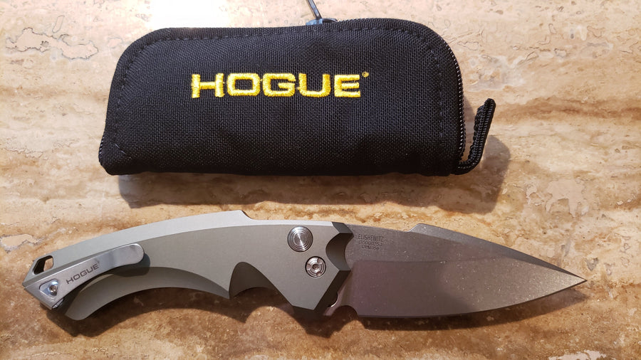 Hogue Knives 34511 EX-A05 Automatic Knife Green Auto