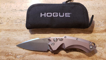 Hogue Knives 34534 EX-A05 Spearpoint, Automatic Dark Earth