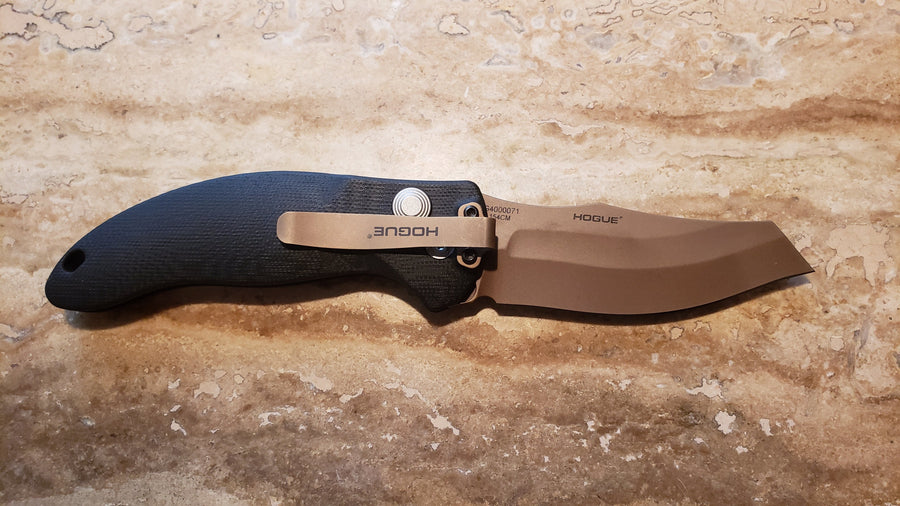 Hogue Knives 36420 Sig Sauer EX-A04 Wharncliff, Automatic