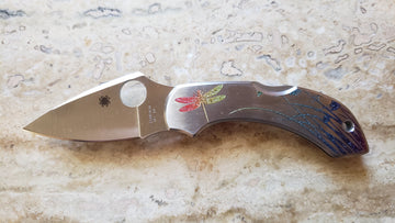Spyderco Dragonfly Tatoo Lock Back Stainless Steel C28PT