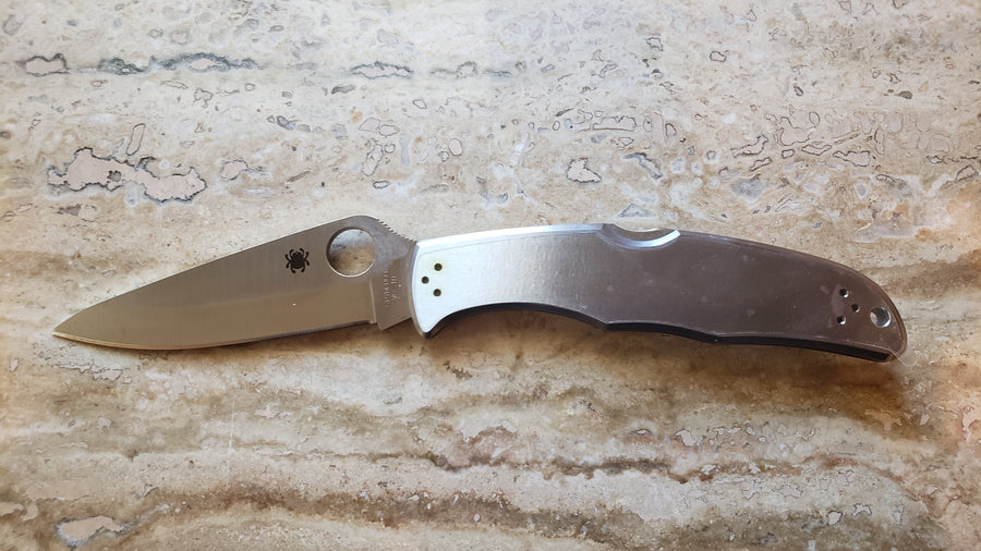 Spyderco Endura 4 SS Knife Stainless Steel C10P Plain Edge